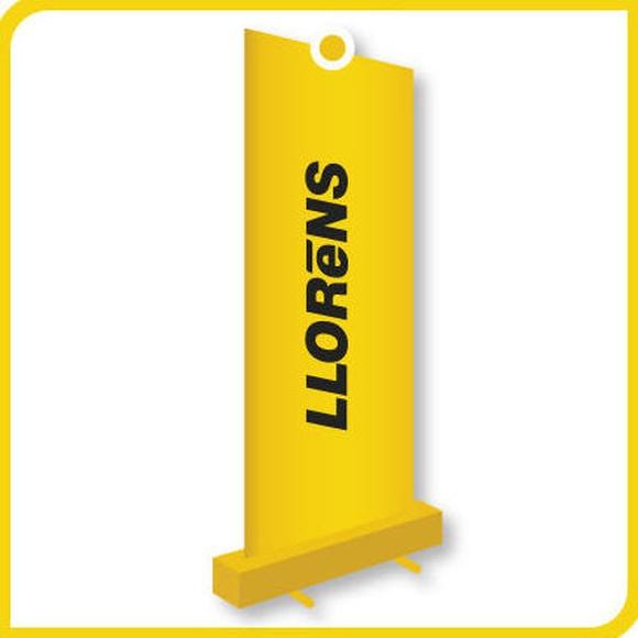 Expositores Roll-Up: Productos y Servicios de Imprenta Llorens