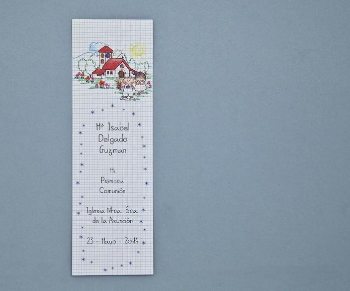 Marca páginas: Trabajos de Gráficas Santamaría