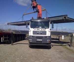 Traslado de básculas pesa camiones. Básculas pesa camiones. Básculas Mor