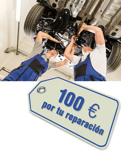 Más ventajas por reparar tu coche con nosotros!