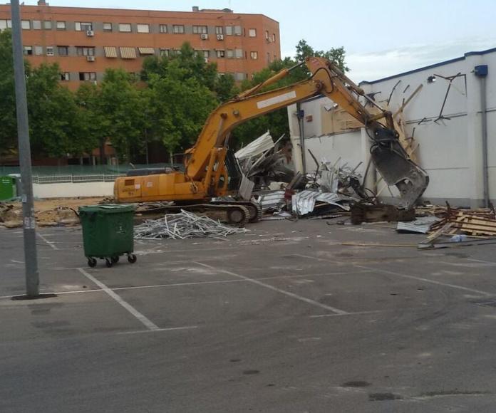 Derribos mecánicos y manuales en Madrid- Toledo- Guadalajara