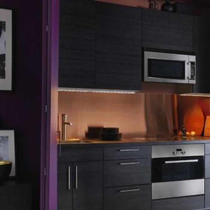 ¡Dale color a las paredes de tu cocina!