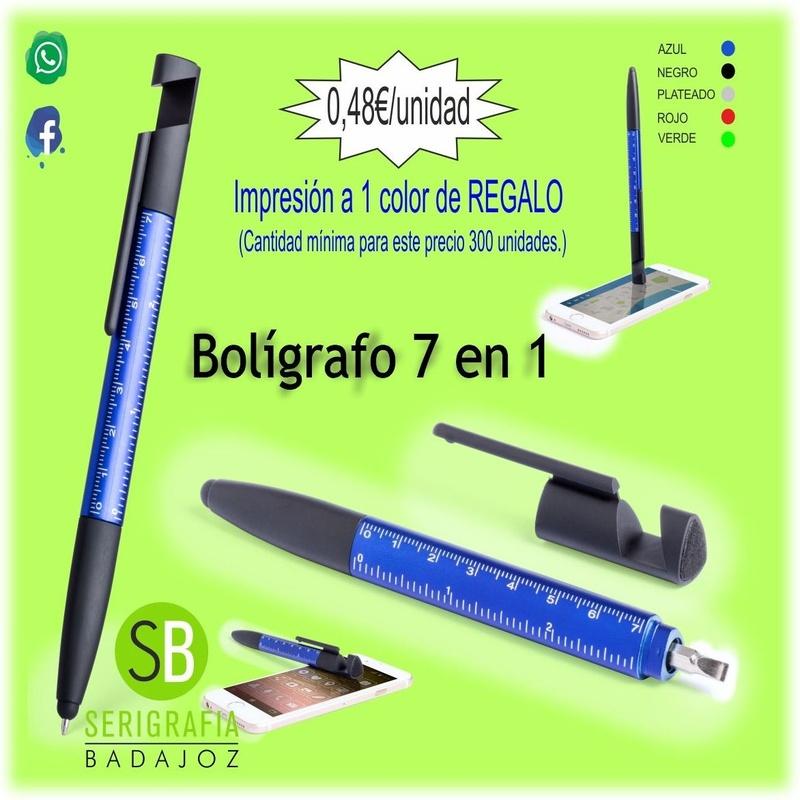 BOLIGRAFO 7 EN 1 - RF.5791