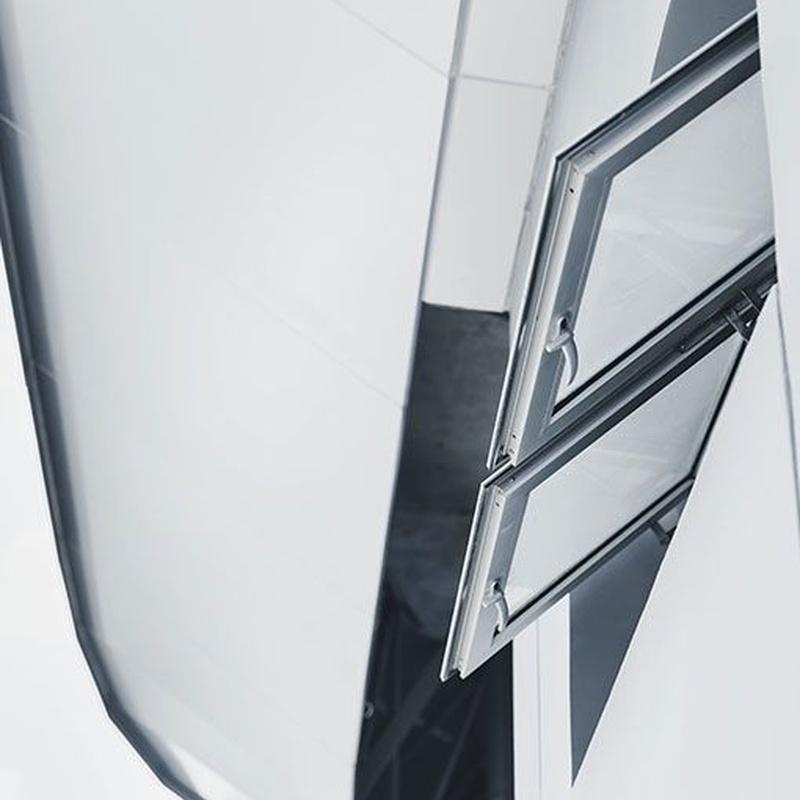 Ventana batiente de aluminio: Catálogo de Carpintería aluminio Vicar