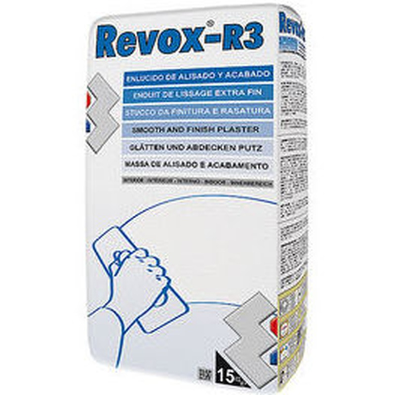R-3 Revox Enlucido de Alisados en almacén de pinturas en ciudad lineal.