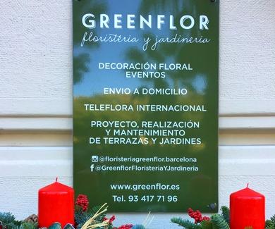 Greenflorbcn *centros de mesa para fin de año*