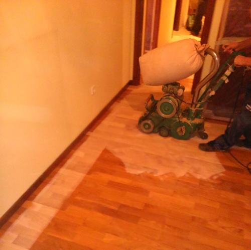 Rehabilitación, barnizado y pulido de suelos sin polvo