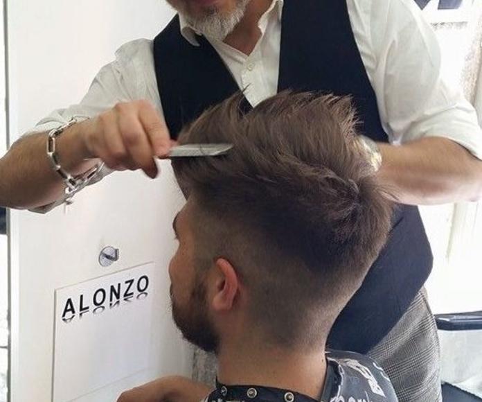 Peinados y cortes de pelo: Servicios de Alonzo peluqueros   peluquería en plaza mayor
