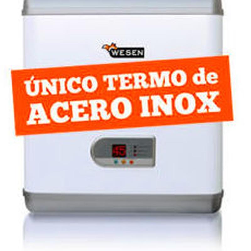 TERMO WESEN 100L DOBLE DEPOSITO EN ONOX