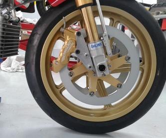 Reparaciones urgentes: Servicios de Isracing Motos
