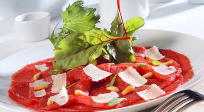 Carpaccio de Ternera con Parmesano: CARTA EL SEVILLANO de Restaurante Rincón del Sevillano