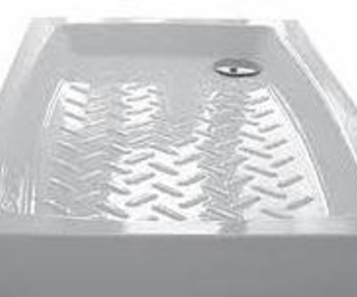 Platos de ducha: Materiales de construcción de F. Campanero Materiales Construcción, S.L.