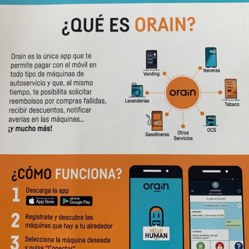 Nuevas máquinas con pago desde el móvil, tarjeta o billetes: Productos y Servicios de Ejido Vending - El Botellón