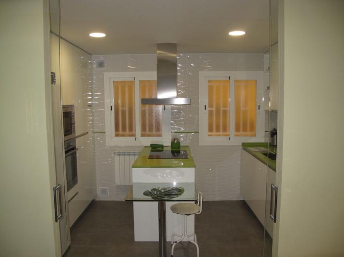 Muebles de Cocina - Proyecto realizado en Madrid: PROYECTOS REALIZADOS de Diseño Cocinas MC
