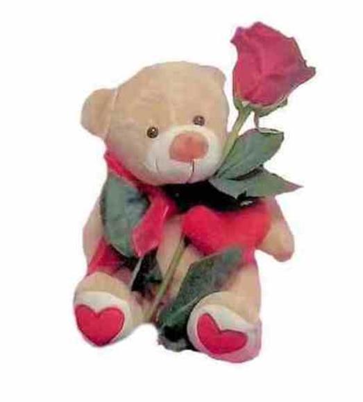 Osito enamorado: Catálogo de Regalos de Floresdalia.com