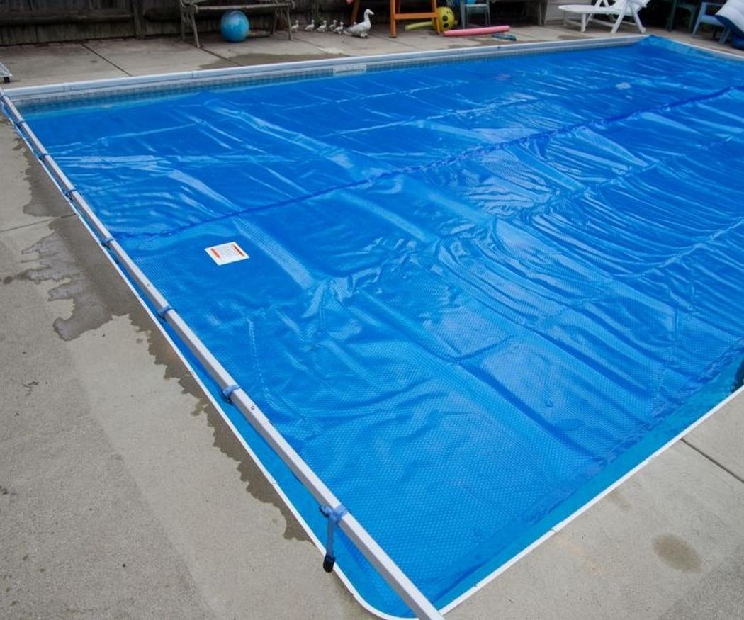 Tipos de lonas para piscinas