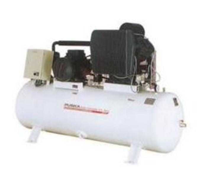 Compresores de pistón serie Industrial serie AB sobre depósito