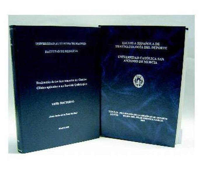 Encuadernación: Productos y servicios de Mor-Cas