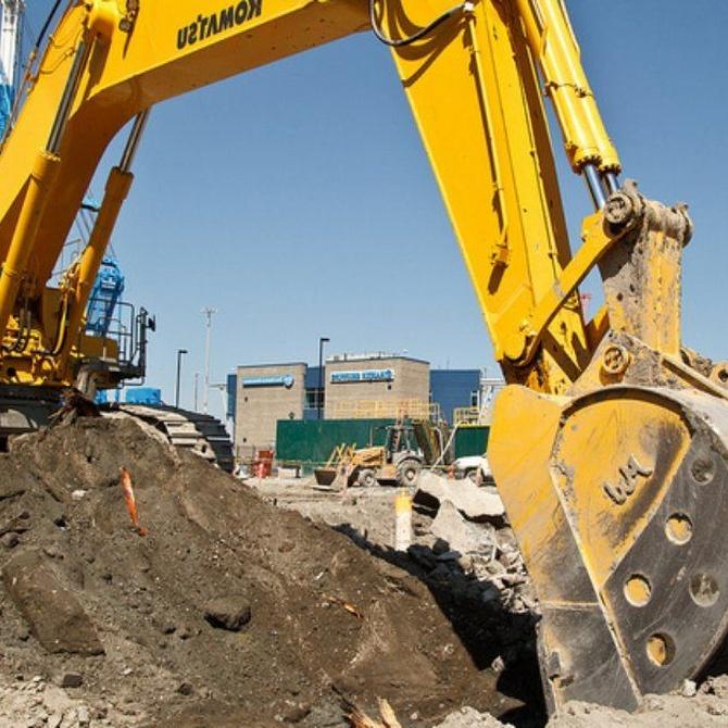Cómo se realizan las tareas de excavación de una piscina