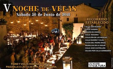 NOCHE DE LAS VELAS EN VEJER DE LA FRONTERA 30/06/2018