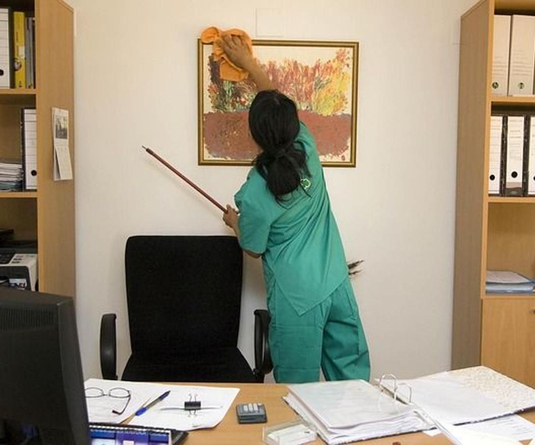 La importancia de una oficina limpia para la seguridad en el trabajo