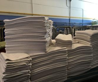 Lavado: Servicio lavandería industrial de Lavandería Industrial Robila