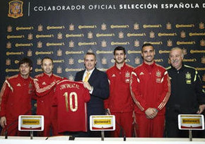 """Continental firma con la """"roja"""""""