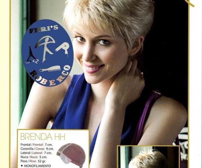Pelucas de mujer oncológicas : Productos  de Feri´s Roberco