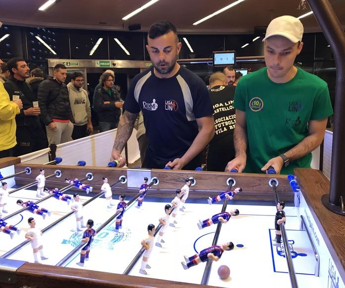 Campeonato futbolín REM