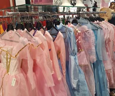 Disfraces princesas deluxe