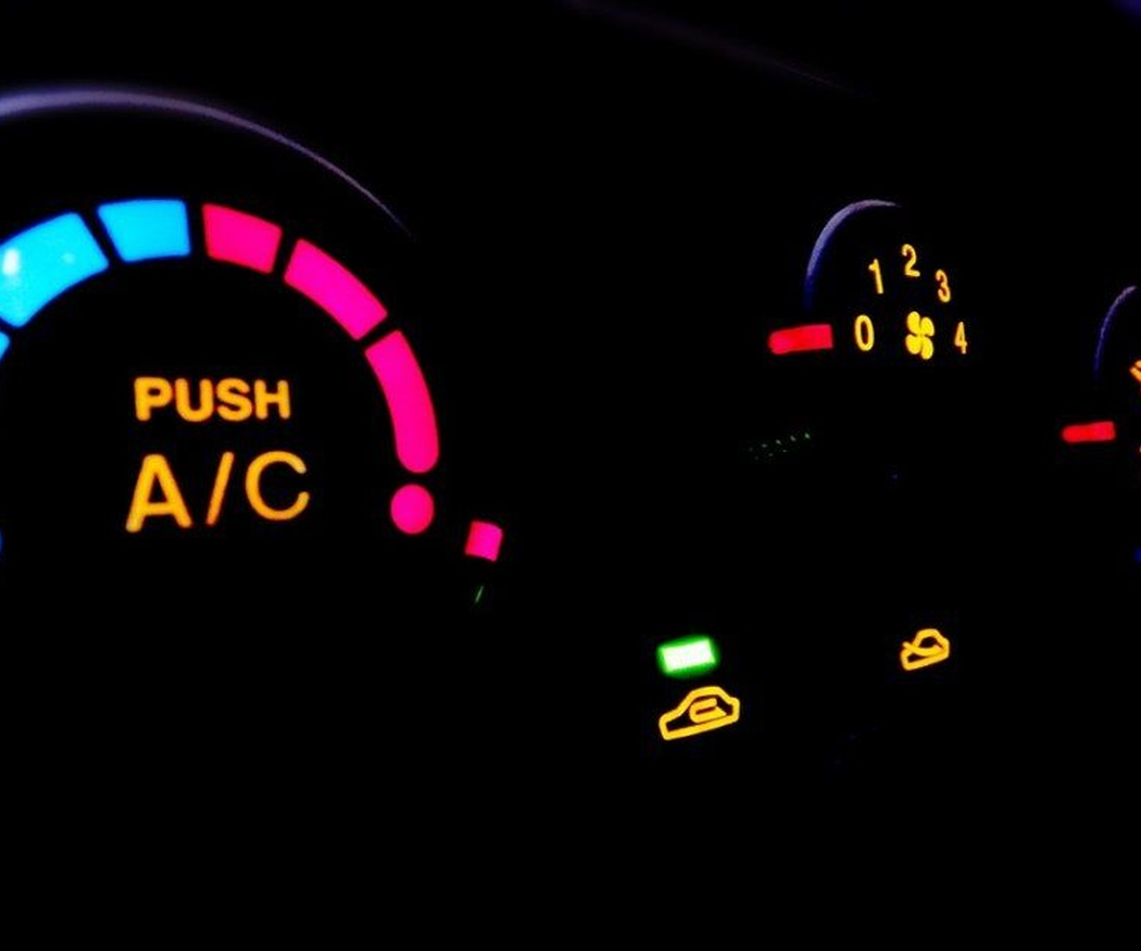 El termocontrol de un vehículo