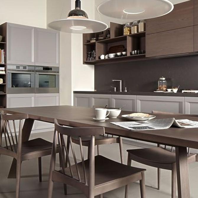 ¿Cómo deben ser los muebles para mi cocina?