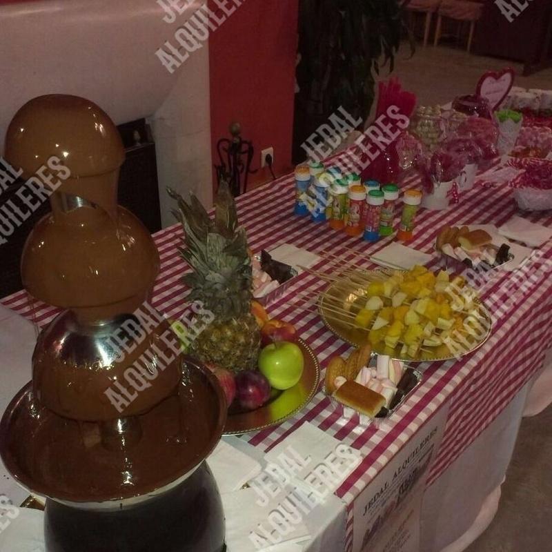 FUENTE FONDANT PARA CHOCOLATE: Catálogo de Jedal Alquileres