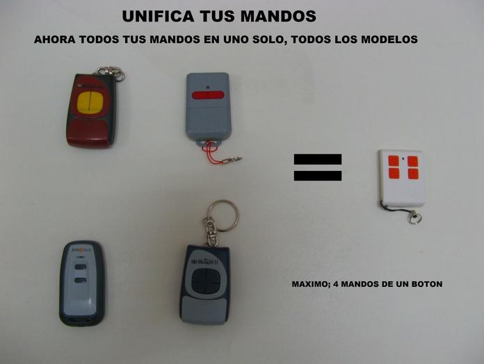 UNIFICA TUS MANDOS