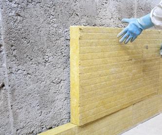 Carpintería de madera y aluminio: Servicios de Construcciones Gañarbe