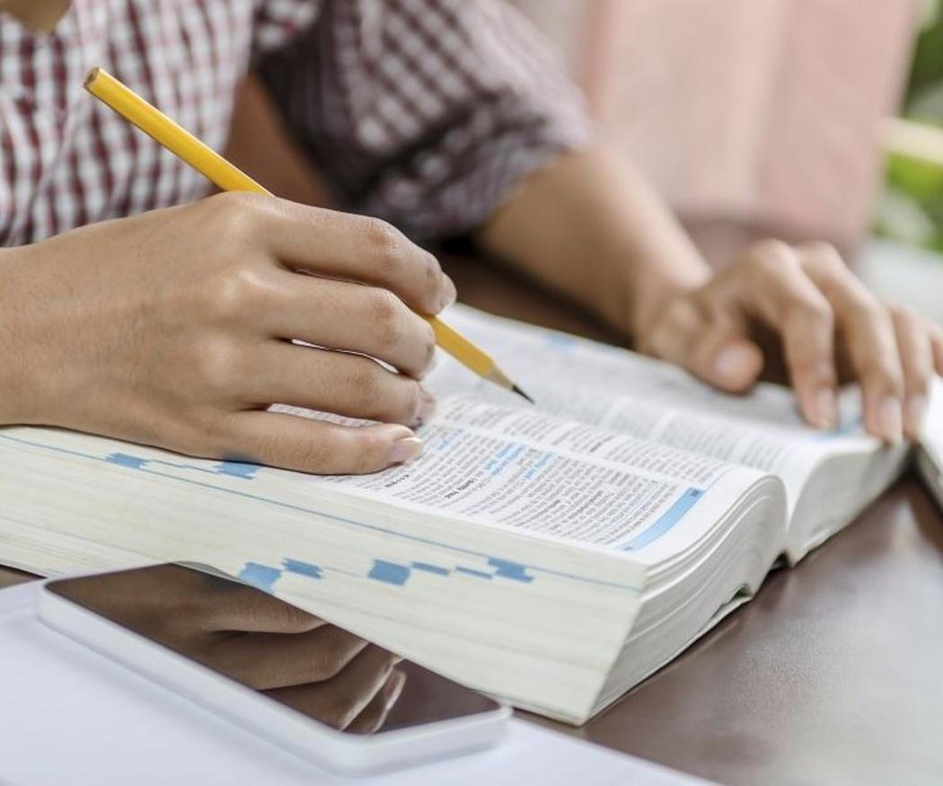Técnicas de estudio: el subrayado de un texto