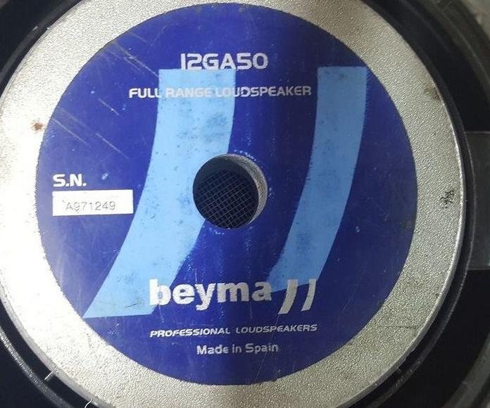 Reconstruidos Beyma 12GA50