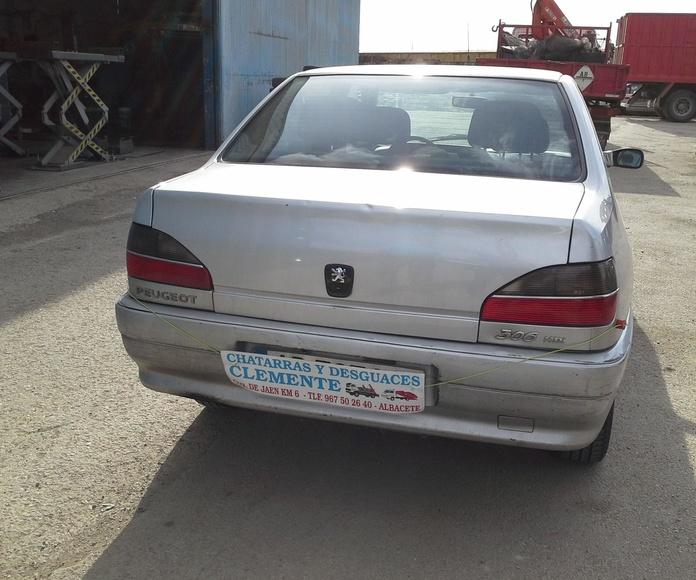 Peugeot 306 año 2000 2.0 HDI para desguaces Albacete. Desguaces Clemente