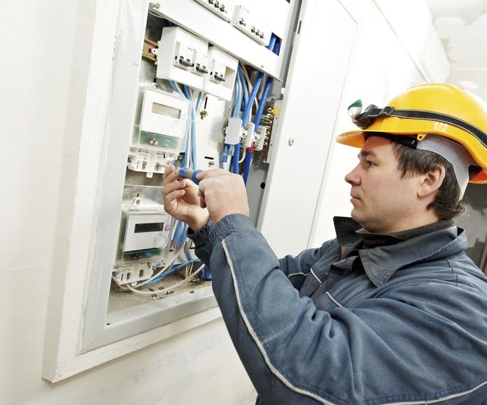 Instalaciones eléctricas: Servicios de CNB Tecnologías