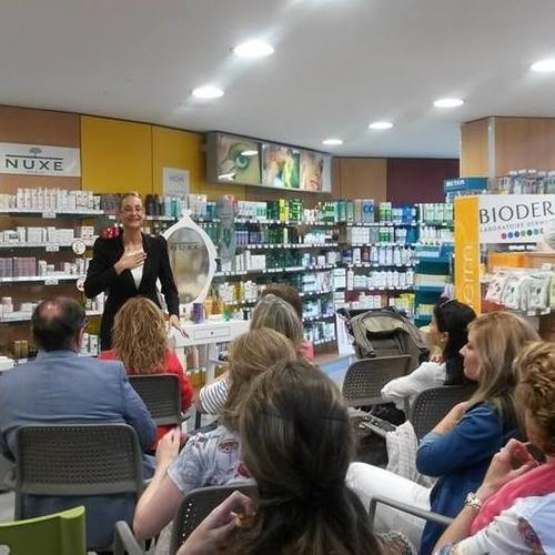 Conferencias y eventos de cosmética Sant Joan Despi