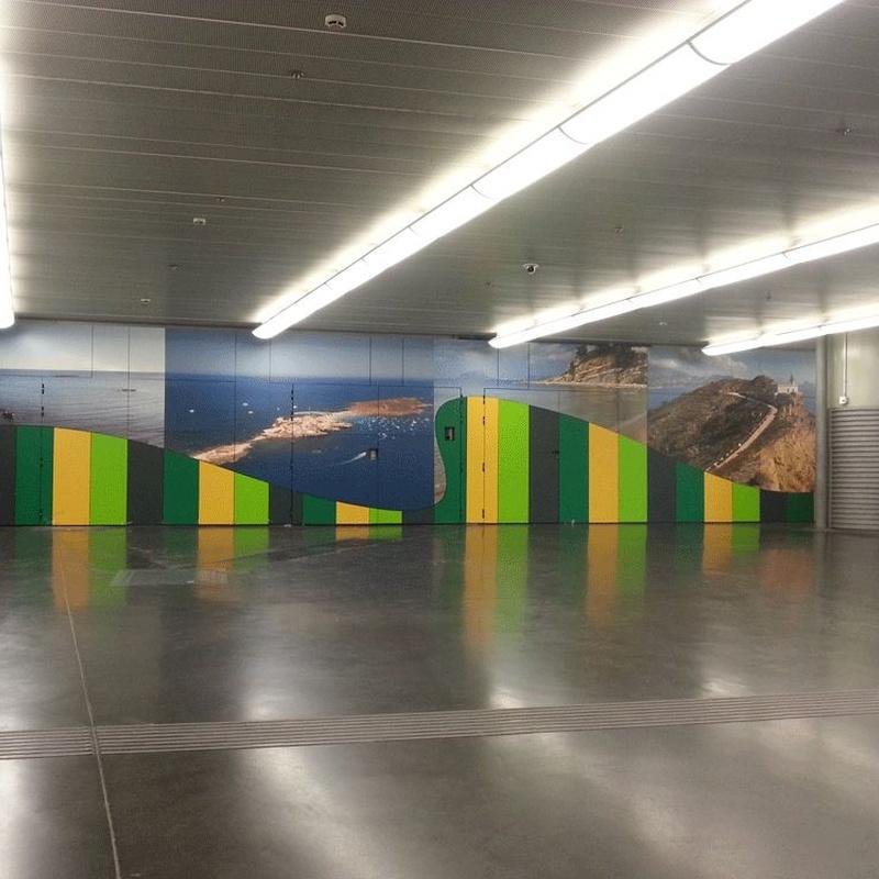 Estación Puerta de Atocha: Proyectos Realizados de Durplei