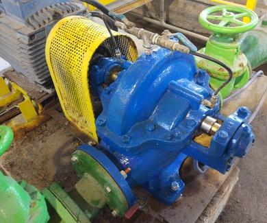Reparación bombas centrifugas, agua, lodos y fluidos