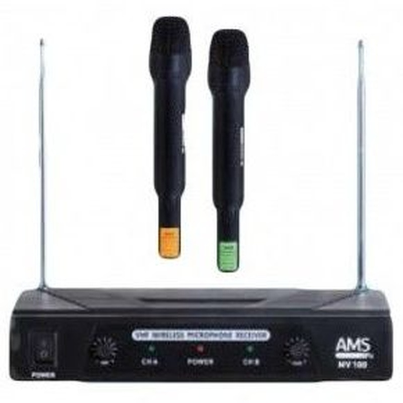 AMS MV 100 M - Micrófonos inalámbricos: Nuestros servicios de Jukeval Eventos