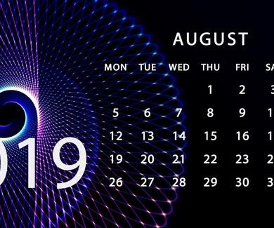 Los plazos procesales en el mes de Agosto