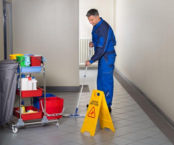 limpiezas de edificios: Catálogo de Limpiezas Marisem M & M