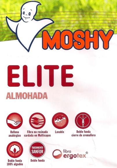 Moshy Almohada Elite:  de Colchonería Moderna