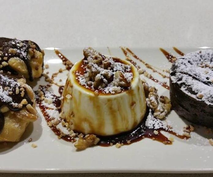 Postres caseros : Nuestros platos  de Restaurante Caruso