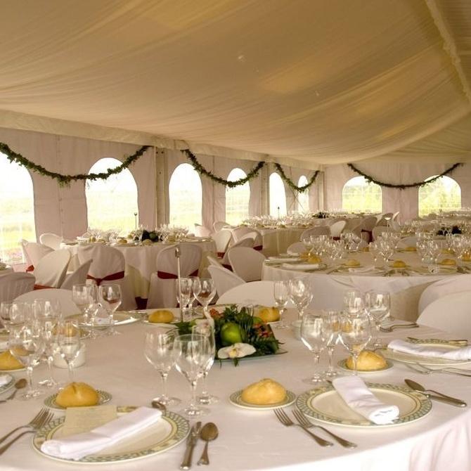 ¿Son importantes las vajillas en una boda?