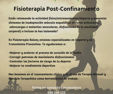 Fisioterapia Post-Confinamiento