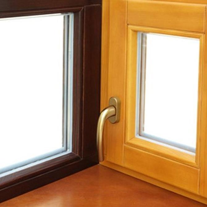 Diferentes tipos de ventana entre los que elegir
